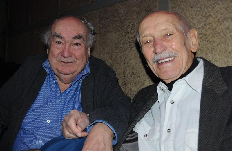 Novák Ferenc és Juraj Kubánka (Fotó: Nagy Sándor)