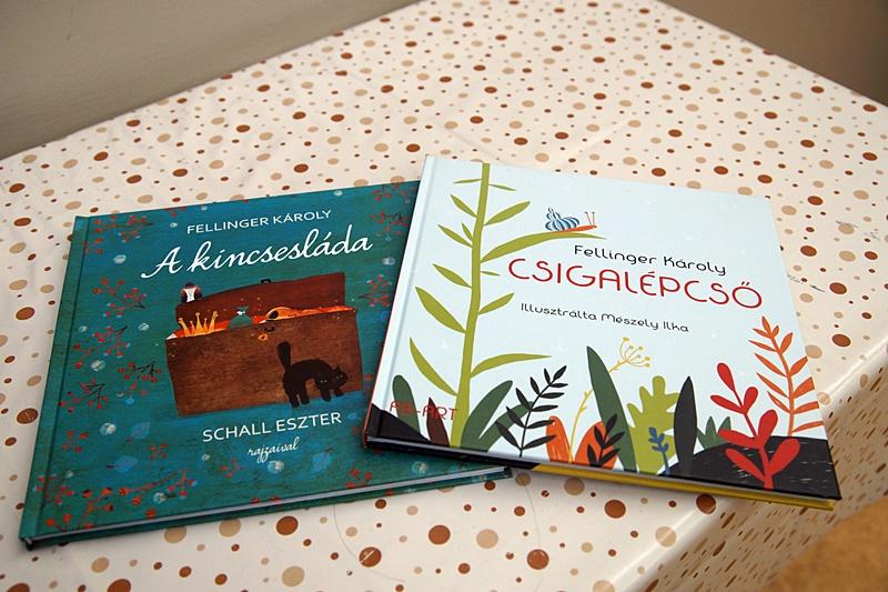 Fellinger-kötetek (Fotó: Hideghéthy Andrea/Felvidék.ma)