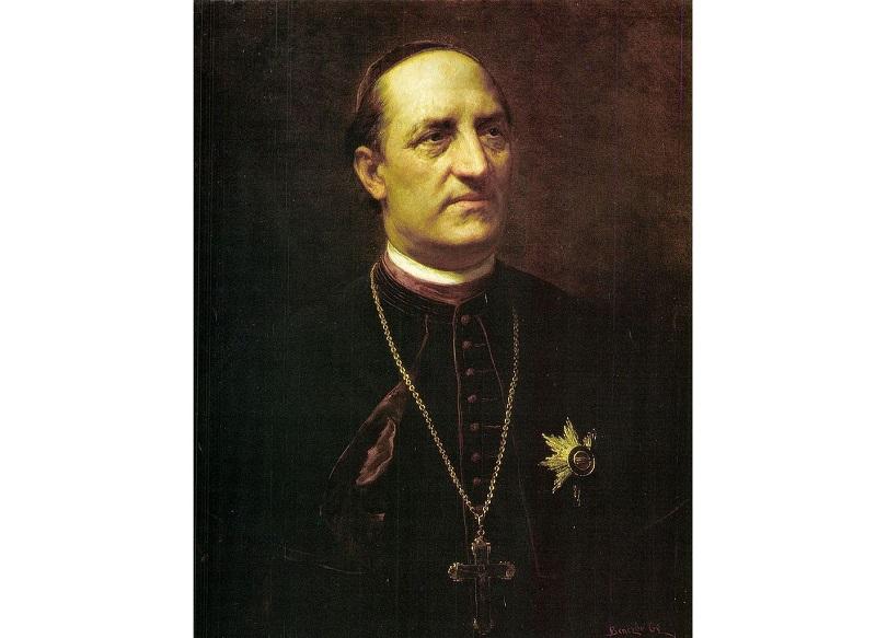 Ipolyi Arnold Benczúr Gyula festményén, amely 1893-ban készült
