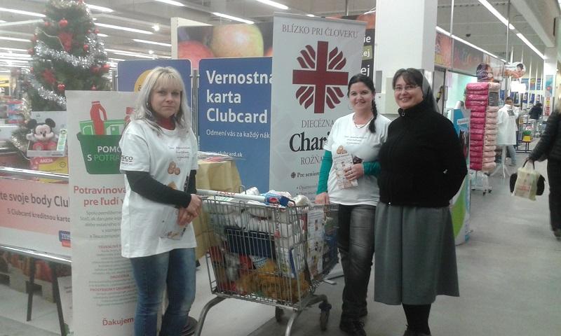November végével fejezték be a tartós élelmiszergyűjtést (Fotó: Beke Beáta/Felvidék.ma)