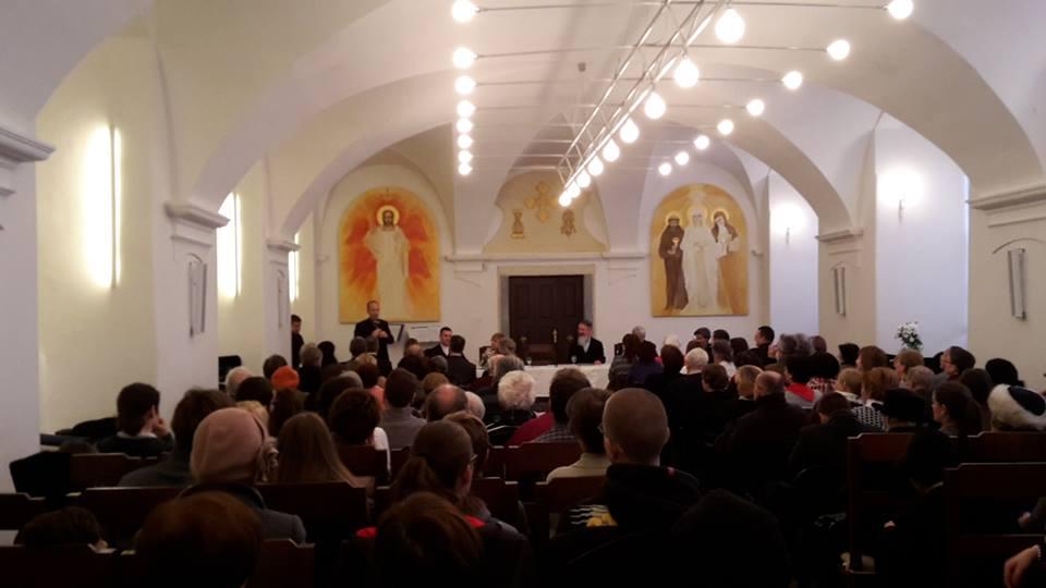 A refektórium megtelt (Fotó: Méry János/Felvidék.ma)
