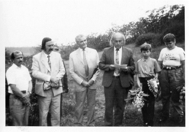 Középen Csáky Károly, Czine Mihály és Z. Urbán Aladár (Fotó: CSK archívuma)