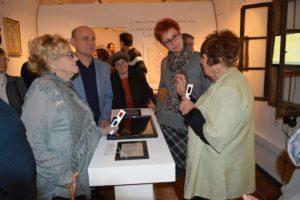A kiállítás résztvevői (Fotó: Dunajszky Éva)