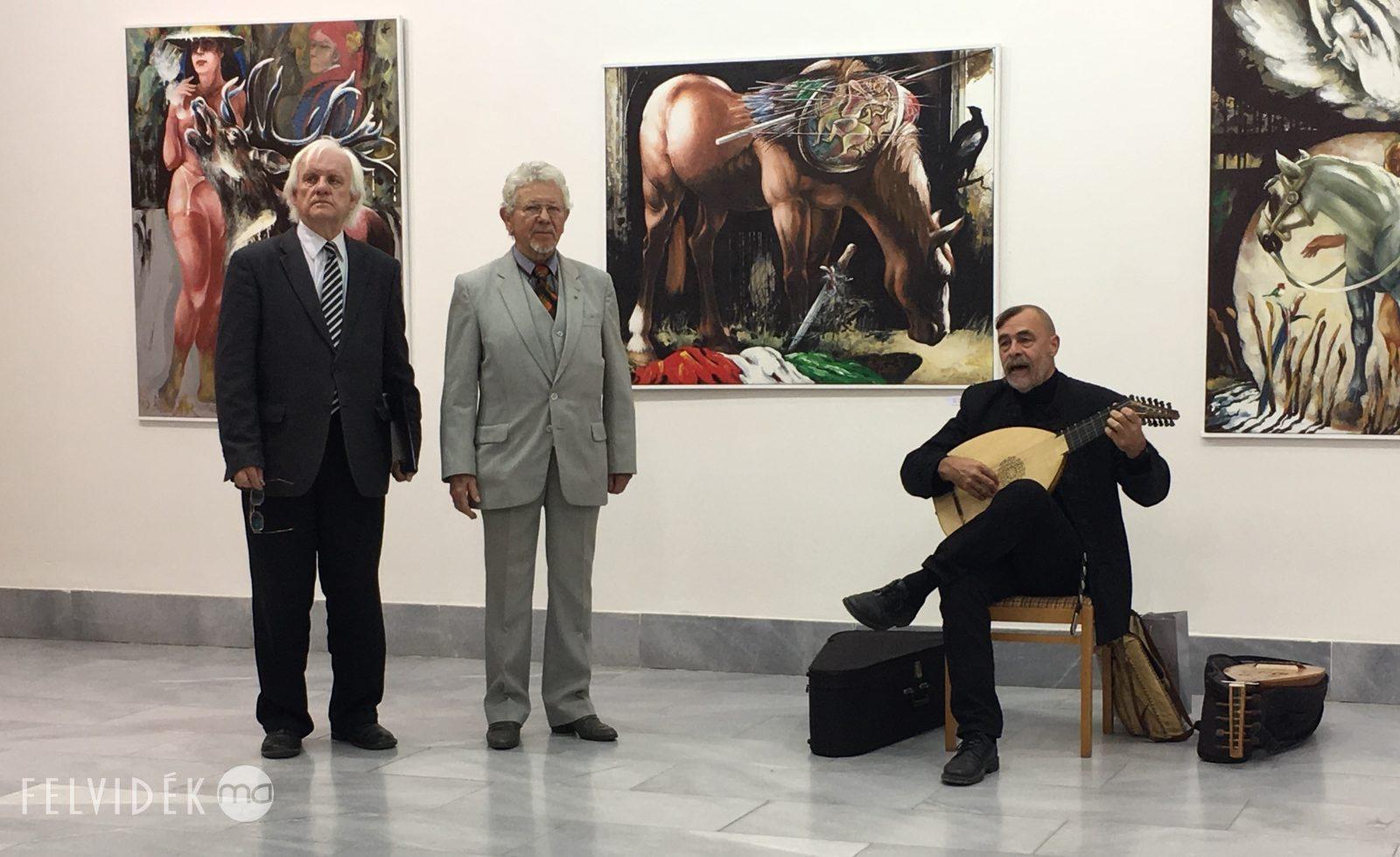 Kopócs Tibor jubileumi tárlata a Csallóközi Múzeumban