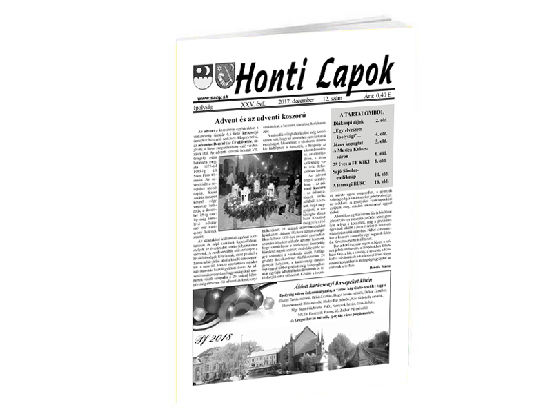 Koncertről, kiállításról és iskolai évfordulóról is írnak a Honti Lapok