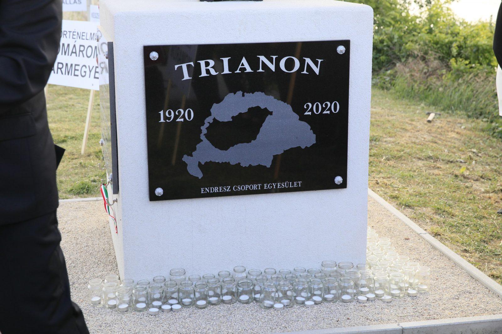 Trianon 100 Komáromi megemlékezés