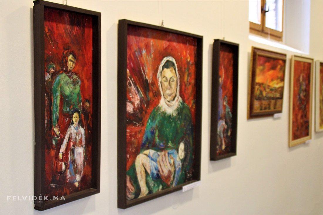 Ipolyság meghitt hangulatú kiállítással emlékezik Pokorný Lajos festőművészre