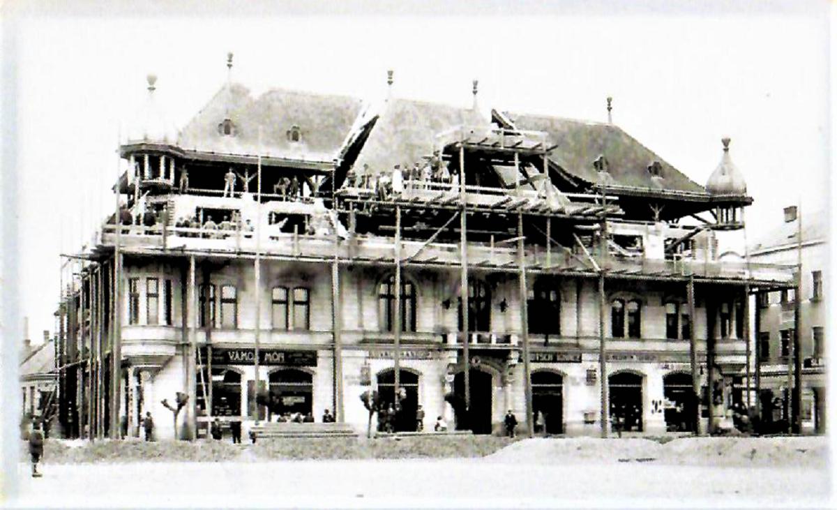 A lévai városháza bravúros átépítése
