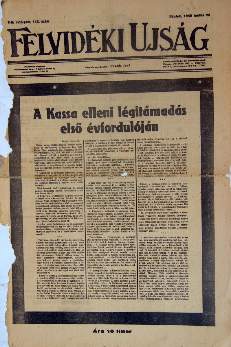 Kassa bombázása még mindig rejtély III.