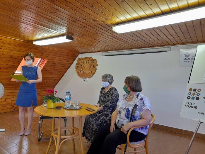 Író-olvasó találkozó Rimaszombatban