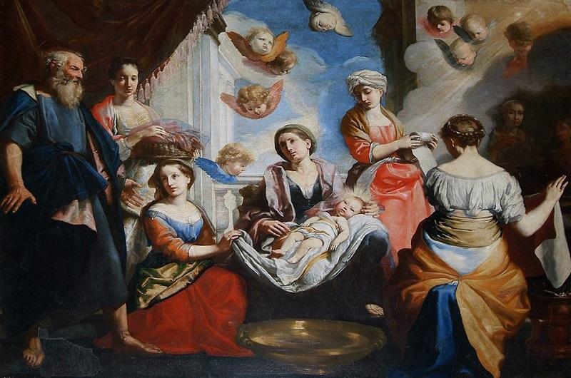 Esteban Murillo: Szűz Mária születése (17. század) Fotó: Wikipédia